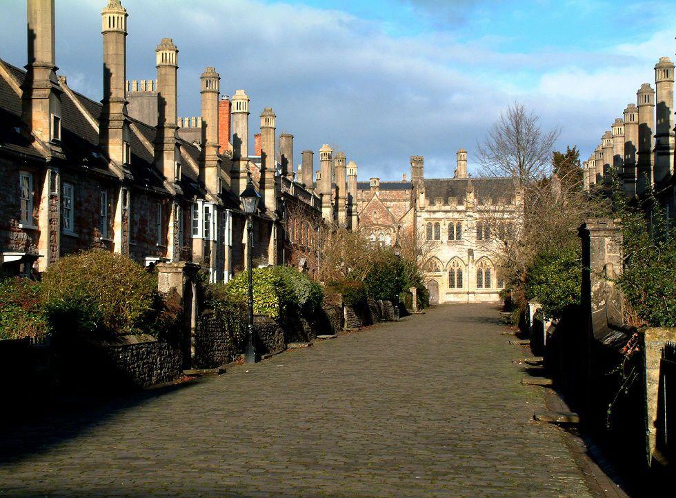 Zamanın el sürmediği Orta Çağ caddesi Vicars' Close!