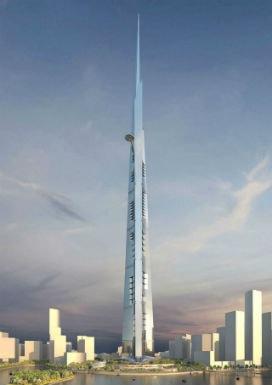 Tamamlandığında dünyanın en yüksek binası olacak Jeddah Tower'ı, Usama Bin Ladin'in ailesine ait şirket yapıyor.