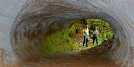 Güney Amerika'da gizemli tüneller!