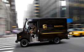 UPS araçları sola dönmeyerek, milyonlarca dolar tasarruf sağlıyor.