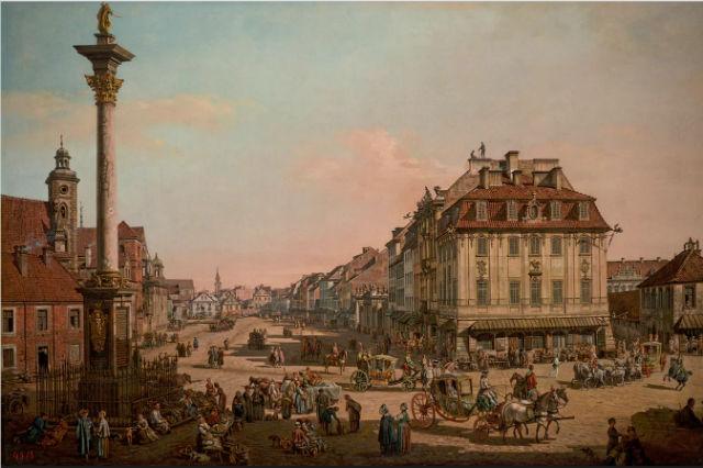 Molozlarından doğan şehir!  Nazi saldırıları, şehrin %85'ini moloz yığınına dönüştürür ancak Bellotto'nun tabloları yeniden inşa için umut olur!