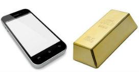 Cep telefonunuzda ne kadar altın var?