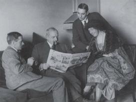 1930 yılında kurulan Agatha Christie'nin de üyeleri arasında yer aldığı Dedektif Kulübü!
