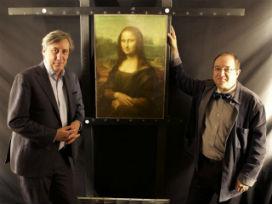 Mona Lisa portresinin altında gizli başka kadınlar!
