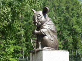 Laboratuvar farelerini onurlandırmak için yapılan anıt!