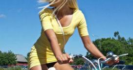 Kadın bisikletçilerin trafik kazası riski erkeklerden daha az!