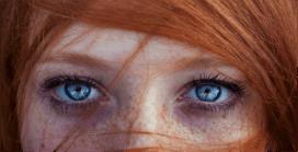 Kızıl saçlarla mavi gözlerin bir araya gelme ihtimali…