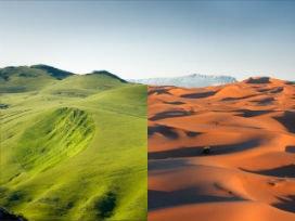 Büyük Sahra, her 23 bin yılda bir, Yeşil Sahra'dan, Sahra Çölü'ne dönüşüyor!