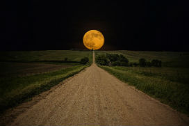 Güneş ve Ay ufuk çizgisine yaklaştığında neden daha büyük görünür?