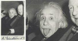 Einstein'ın dilini çıkardığı meşhur fotoğrafın hikayesi!