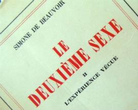 """Simone de Beauvoir, İkinci Cins,  """"Kadın Doğulmaz Kadın Olunur!"""""""