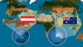 Avusturya ve Avusturalya isimleri neden birbirine benzer?