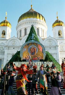 Rusya'da Noel