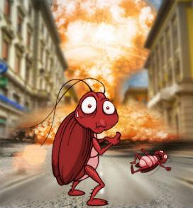 Hamamböcekleri Gerçekten Nükleer Patlamadan Sağ Salim Kurtulur mu?